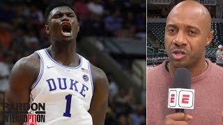 Can Zion Williamson live up to the hype at Duke? | Pardon The Interruption