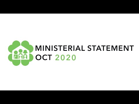 Ministerial Statement on 5 Oct 2020