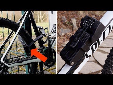 Fahrradschloss (Faltschloss)