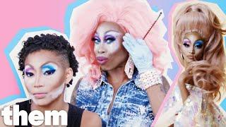 Monique Heart Gives Amandla Stenberg a Drag Makeover | Drag Me | them.