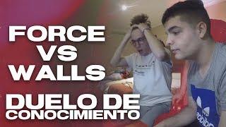 DUELO DE MAPAS - LA REVANCHA - FORCE VS WALLS HACIENDO UN EXAMEN DE PRIMARIA (PARTE 2)