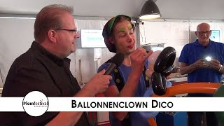Pleinfestival Kaatsheuvel 2019 - Ballonnenclown Dico (Langstraat TV)