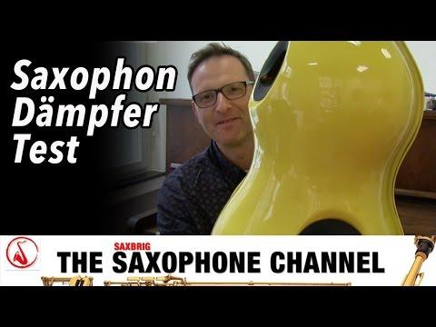 Man hört fast nix! Saxophone-Mute - Saxophon-Dämpfer Test - DailySax 080