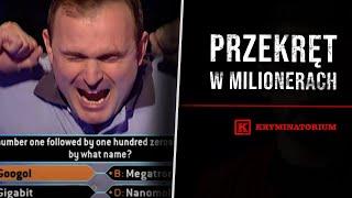 Oszust wygrywa milion w Milionerach | KRYMINATORIUM