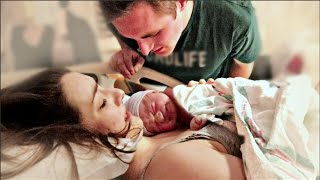 Natural VBAC Birth Vlog | EMOTIONAL BIRTH OF OUR BABY GIRL! | Nat +Wes|
