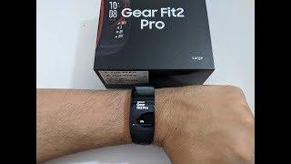 Samsung Gear Fit 2 Pro Unboxing und Installation (Deutsch)