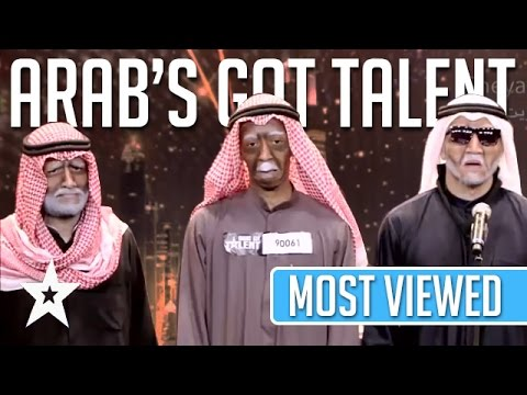 MOST VIEWED Auditions EVER On Arab's Got Talent! Got Talent Global (видео)