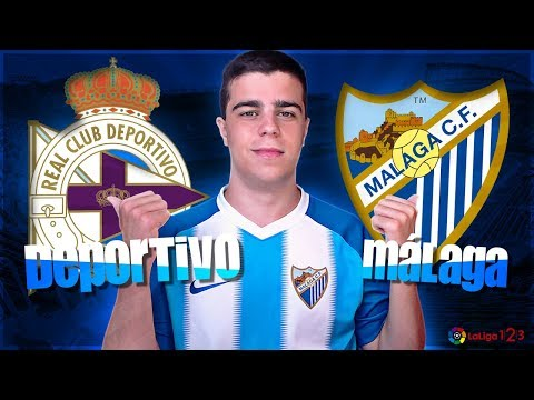 """RC Deportivo vs Málaga CF (4-2)   """"¡AQUÍ NO SE RINDE NADIE!""""   Semifinal PlayOff de Ascenso"""