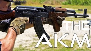 The AKM (the most common assault rifle in the world)