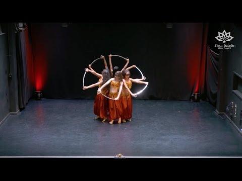 שישיית רקדניות בטן בביצוע מיוחד לשיר Cheap Thrills