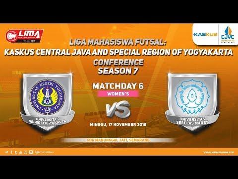 Women's UNY vs UNS LIMA Futsal: Kaskus CJYC Season 7
