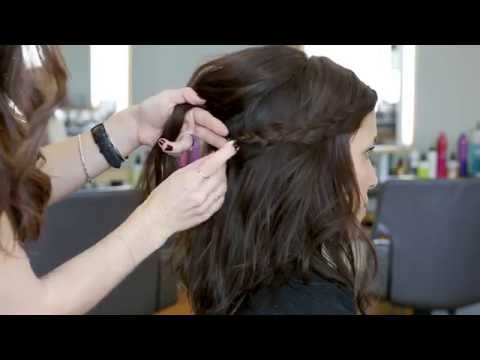 How to Style a Hairline Braid | Second Day Hair | Bumble and bumble.