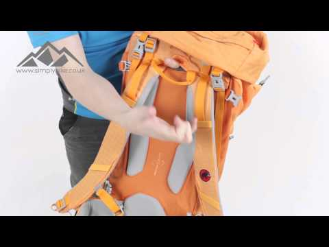 Mammut Trion Guide 35 Plus 7 Rucksack Mango - www.simplyhike.co.uk