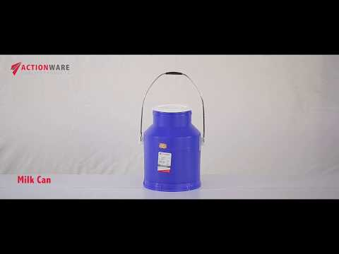 7.5 Ltr Blue Plastic Milk Can