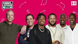 """""""Simms & Lefkoe: The Show"""" Super Bowl Special with T.O., Ochocinco, Derwin James & More"""