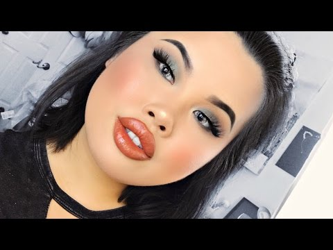 Sultry Forest Green Makeup Tutorial | Kim Thai