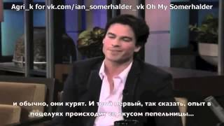 Иэн Сомерхолдер, Ian Somerhalder on Jay Leno Rus sub
