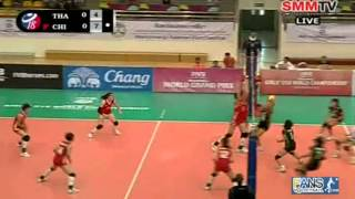 Thailand - China [Set 1] Girls' U18 World Championship 1-08-2013