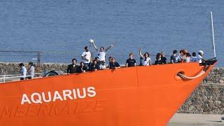 Sète propose d'accueillir l'Aquarius, Gibraltar retire son pavillon