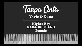 Tanpa Cinta (FEMALE MALE KARAOKE PIANO) Yovie & Nuno