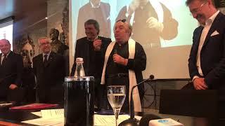Derby Foggia-Bari, il pronostico alla 'Oronzo Canà' di Lino Banfi - IL VIDEO