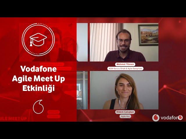 Vodafone Agile Meet Up Etkinliği