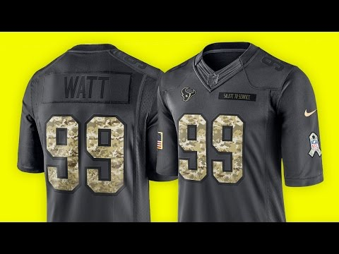 Was ist SALUTE TO SERVICE? - NFL Trikot Review (fanatics.com) | Tomy Hawk TV