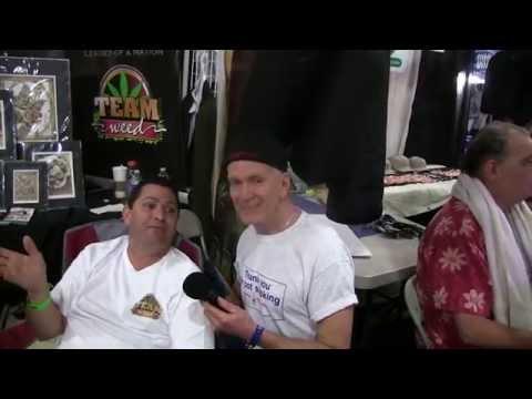2014 cannabis cup Jack Herer's son Dan interviewed by Jeff  Kundert