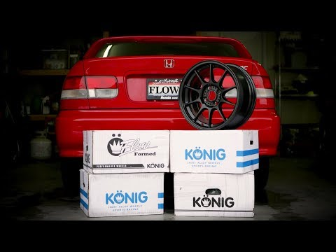 Unboxing the NEW Civic Wheels | Konig Dekagrams