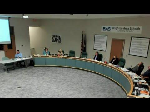 School board meeting gets tense over quarantine policies in Brighton
