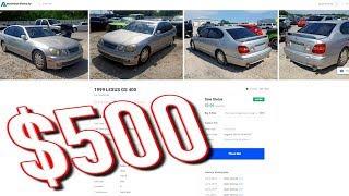 Copart $500 Lexus GS400 Review Video