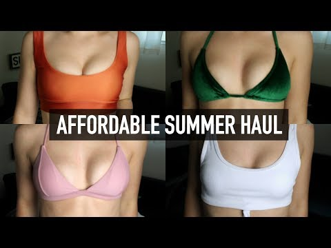 AFFORDABLE SWIMSUIT/CLOTHING HAUL! (HONEST REVIEW) | Mel Joy
