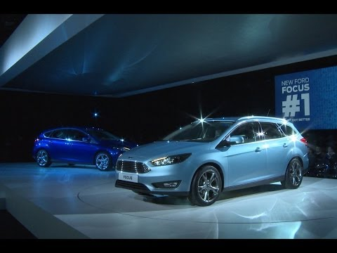 Ford Focus facelift reveal event (English interview)