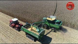 2018 Corn Harvest near Covington Indiana.
