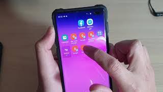 Galaxy S10 / S10+: How To Remove / Delete Home Screens App Icon