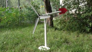 Jak zrobić Turbinę Wiatrową !! | Wiatrak | naładuj telefon za free!