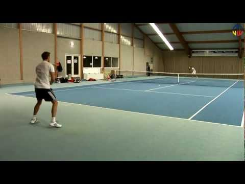 Tennis Training Florian Stephan