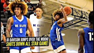 JD Davison Jumps OVER The Moon & Stares The WHOLE GYM DOWN! Goes CRAZY In All-Star Game!