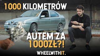 Kupujemy auto! | 1000 kilometrów autem za 1000zł (odc. 1)