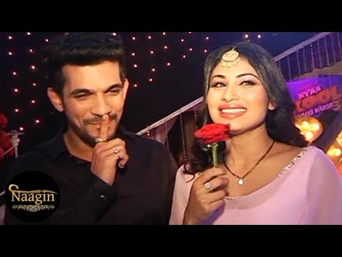 Naagin Behind The Scenes & On Location Fun With Ritik & Shivanya