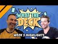 [Highlight] What The Deck w/ Brian Kibler on M20 | Ep 5: Life Manipulation vs Flying | MTGA
