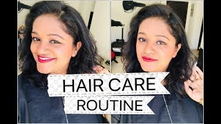 Indian in Kuwait || HOW I FIXED EXTREMELY DAMAGED HAIR || HAIR CARE ROUTINE FOR DRY, DAMAGED HAIR