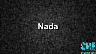 Nada -  Ricky Martin - Letra - HD