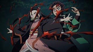 Nezuko Kamado  - (Demon Slayer: Kimetsu no Yaiba) - Nezuko Saves Tanjiro - Kimetsu no Yaiba Episode 19