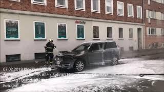 07.02.2019 – Ild i bil – Gladsaxe