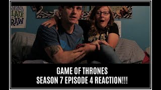 GAME OF THRONES S7 E4 REACTIONS!!! - LEXI & JERRY