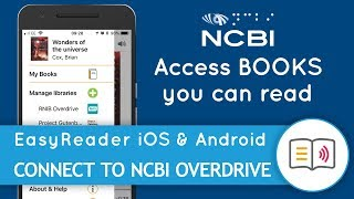 Access NCBI Overdrive, with EasyReader!