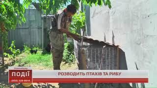 Житель Новоайдара розводить птахів та рибу