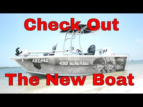 Quintrex Renegade 490 review Paul picks up his NEW Boat |Fishing Cooking Camping|