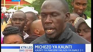 Timu ya kaunti ya Makueni ya wavulana yalaza  timu ya kaunti ya Kwale mabao mawili kwa moja